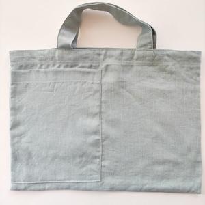 リネン100%エプロン(料理教室セット) Produce by パンdeヒロコ