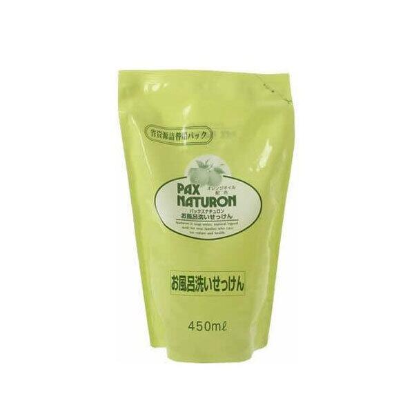 パックスナチュロン お風呂洗いせっけん詰替用450ml
