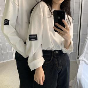 タグ付きロングTシャツ YH7320