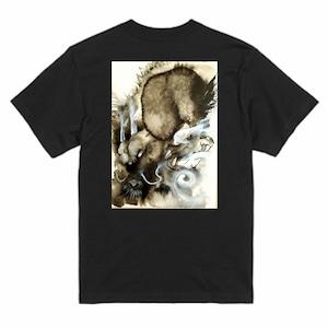 陥穽Tシャツ黒-S