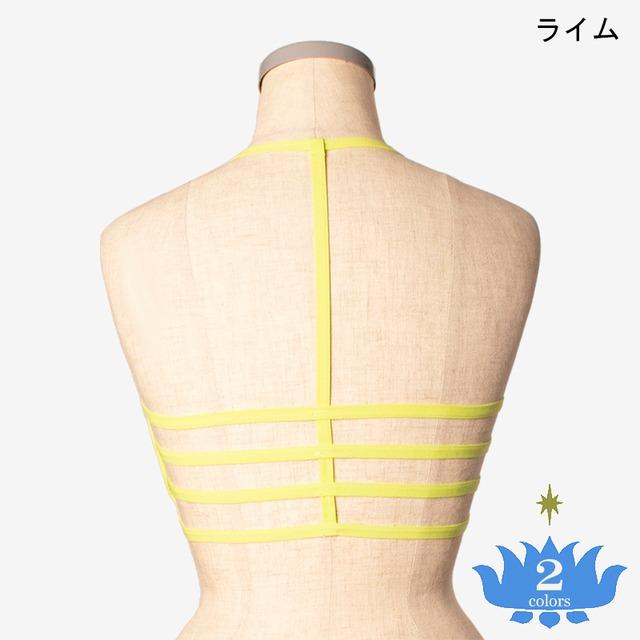 ブラ 4ラインホルター Bra 4 lines with halter neck strap