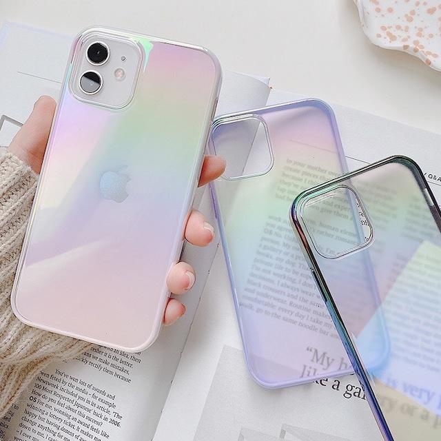 Gradient rainbow iphone case