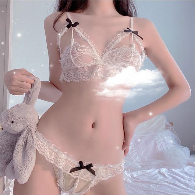 gothic pearl pants lingerie #L20