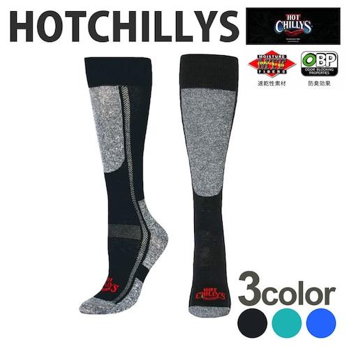 HOT CHILLYS (ホットチリーズ) レディース プレミア ソックス 中厚 HC2212 冬 スキー スノボ アウトドア 雪山 ノルディック 靴下