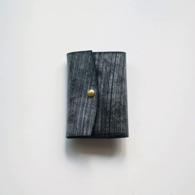 limited  tri-fold wallet - ブライドル -  bridle leather - bk