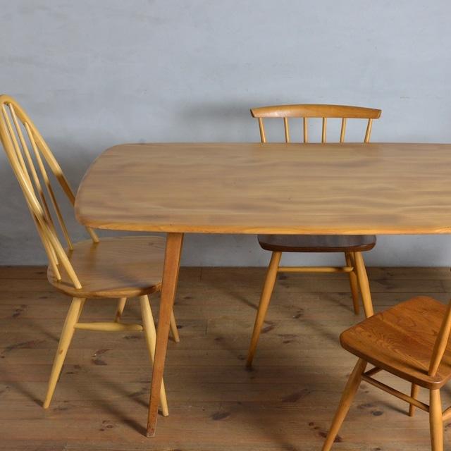 Ercol Rectangle Table / アーコール レクタングル テーブル〈ダイニングテーブル・4人掛け・6人掛け・机・北欧・ミッドセンチュリー〉112173
