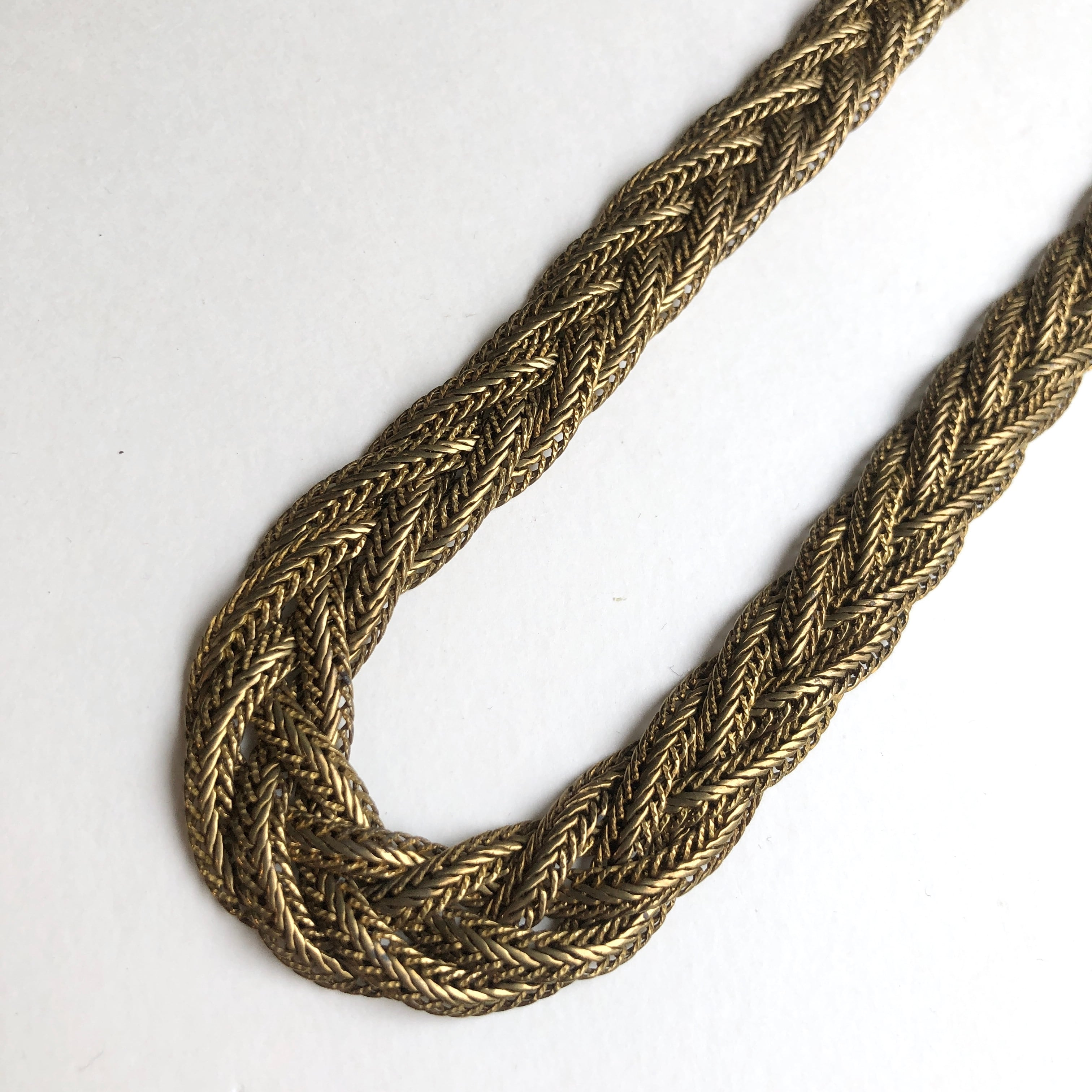 Mesh chain Necklace NC-029