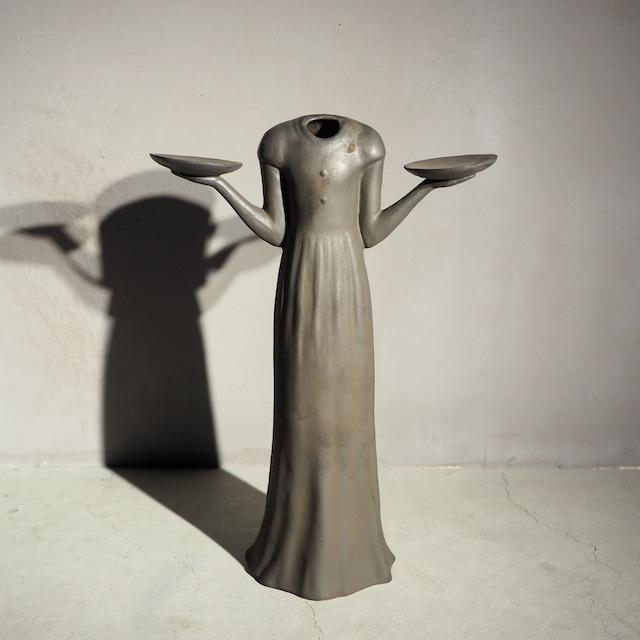 Still Life Bird Girl Vase BK