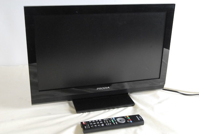 2452 ピクセラ PRODIA PRD-LF122B 22V型 液晶テレビ 2011年製 22インチ B-CASカード(赤) リモコン付属 愛知県岡崎市 直接引取可