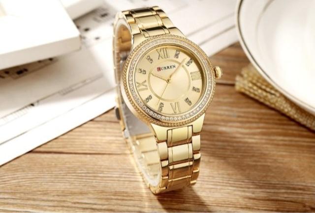 CURREN LT-C9004(gold) レディース腕時計