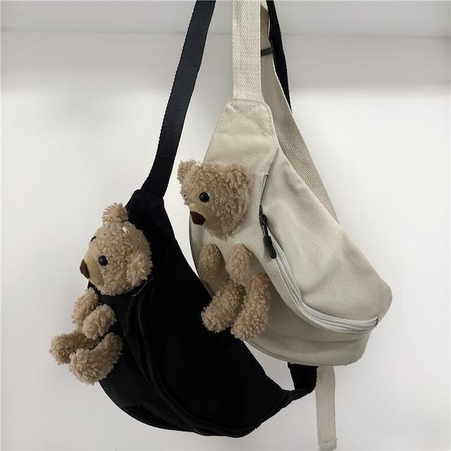 【小物】キュート動物キュートファッションクマ人形バッグ38743982