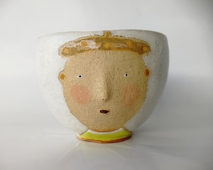 「Face cup 帽子男」 馬岡智子
