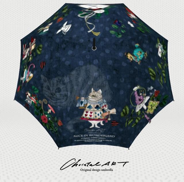 ◆受注生産◆「ネコアリス柄」雨傘専用