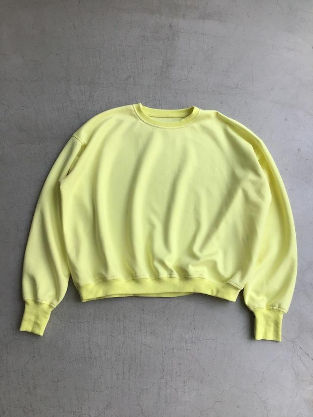 ippei takei【イッペイタケイ】dabo-dabo swt neon yellow/cocoa brown