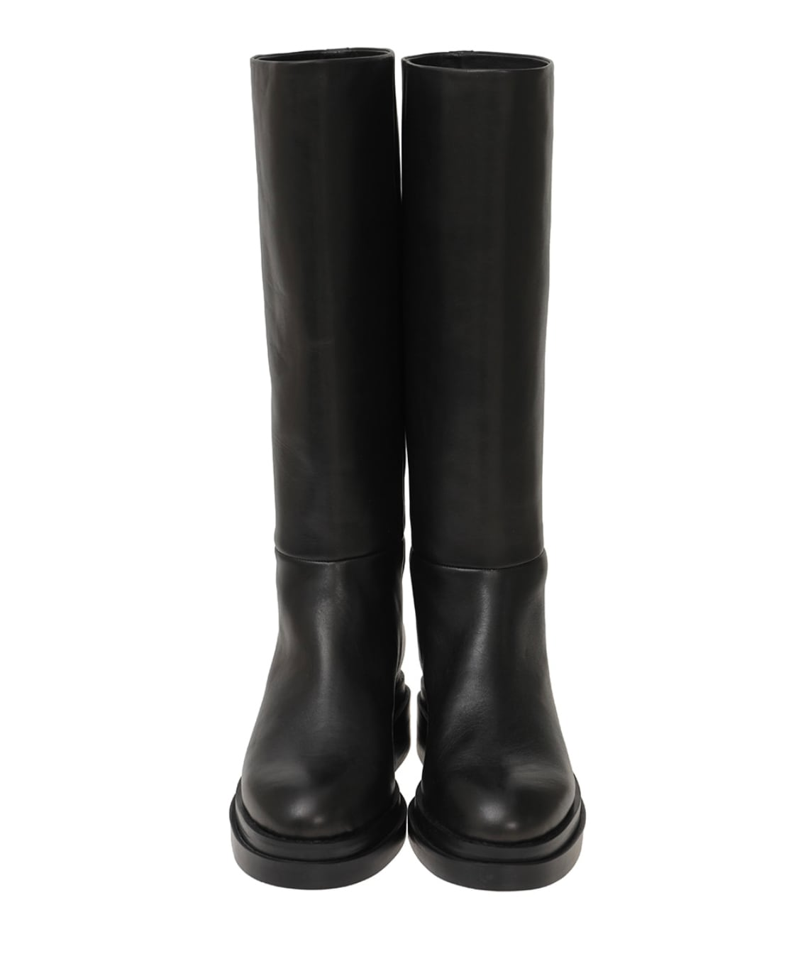 CLANE ROUND TOE LONG BOOTS