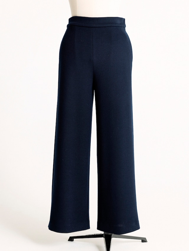 knitted high waisted pants
