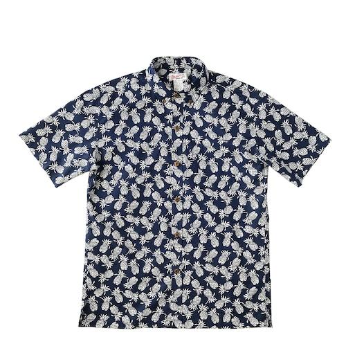 Mountain Men's ボタンダウンアロハシャツ / small pineapple