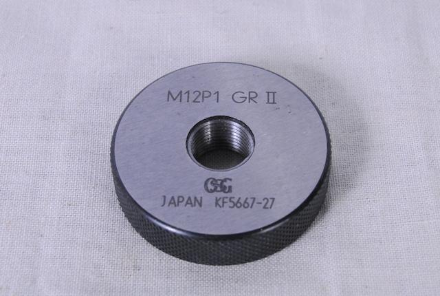 3219 OSG ネジリングゲージ M12 P1 GRⅡ GR2 GRII 愛知県岡崎市 直接引取可