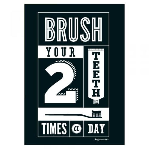 Brush B2ポスター