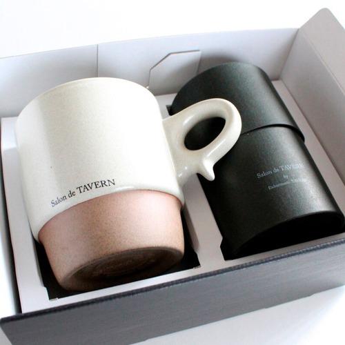 """Salon de TAVERN """"TEA&MAG"""" SET / Cacao + Mug -Ivory"""