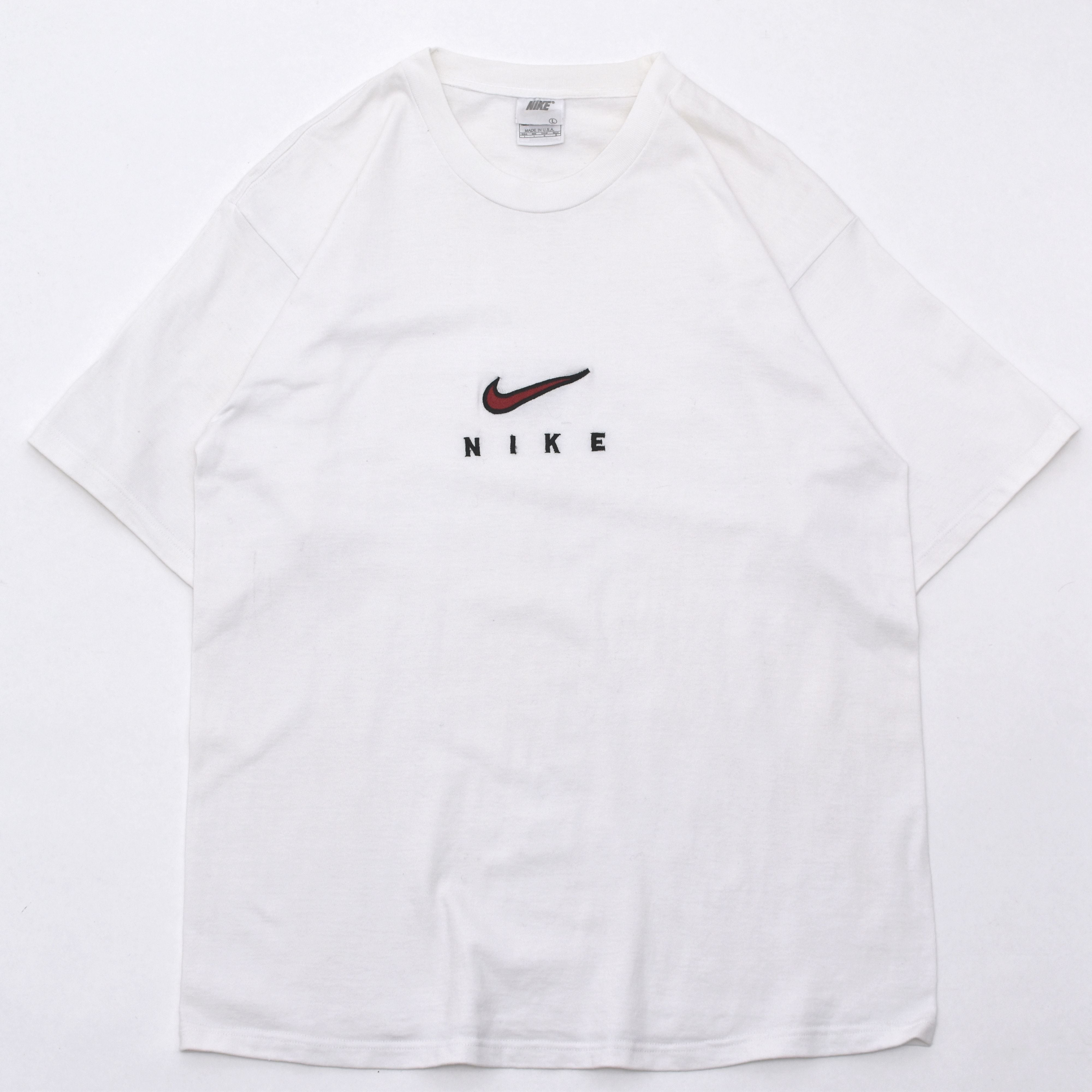 USA Made  90s vintage NIKE logo T shirt