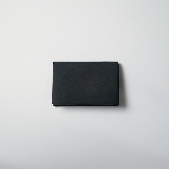 ori cardholder - 名刺入れ - bk - プエブロ