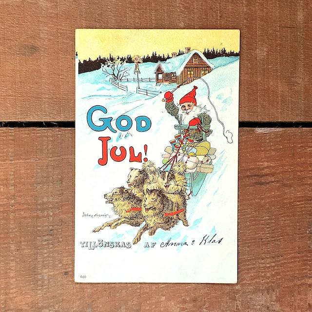 クリスマスカード「Jenny Nyström(イェニー・ニィストルム)」《201203-02》