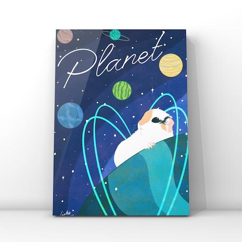 オンデマンドアートプリント【Planet】