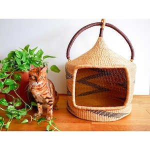 African Baskets for Cat