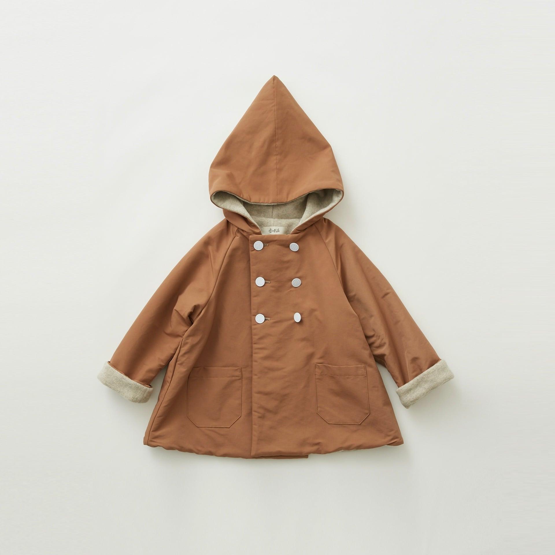 《eLfinFolk 2021AW》elf coat / milky brown / 90-100cm