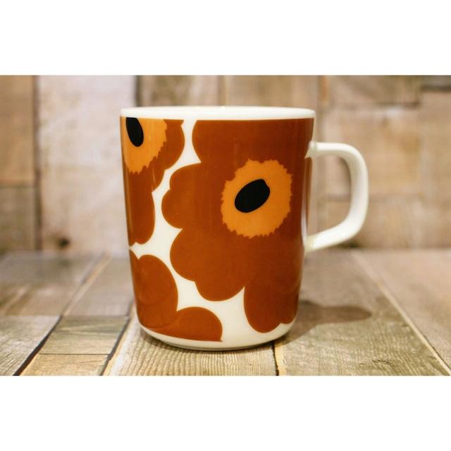 マリメッコ(marimekko)マグカップ 250ml ブラウン /浜松雑貨屋 C0pernicus