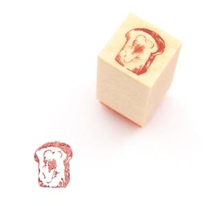 飾れるミニスタンプ バタートースト