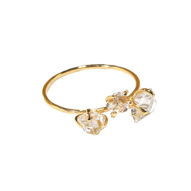 Stone Rings(ストーンリング)EMU015R-6 ハーキマークリスタル