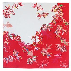 キンギョドロップ 木綿 小風呂敷(約50cm角)【日本製】
