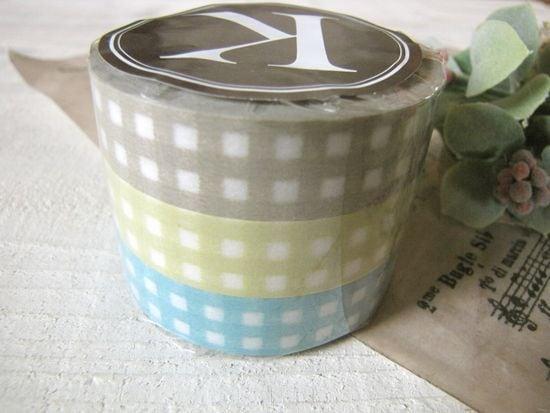 マスキングテープ*ギンガムチェック/セレクト雑貨