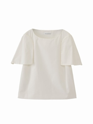Half sleeve top  / white / S15TP01-2