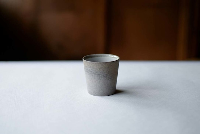 甚秋陶苑|湯呑み(グレー)