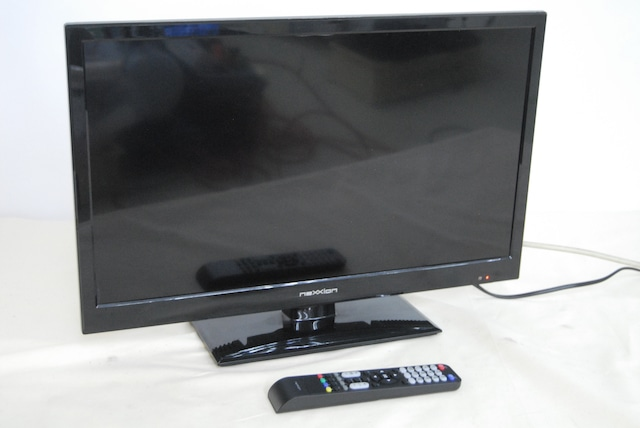 2451 NEXXION WS-TV2451B 24V型 地上デジタルLED液晶テレビ 24インチ 2015年製 B-CASカード(赤) リモコン付属 愛知県岡崎市 直接引取可
