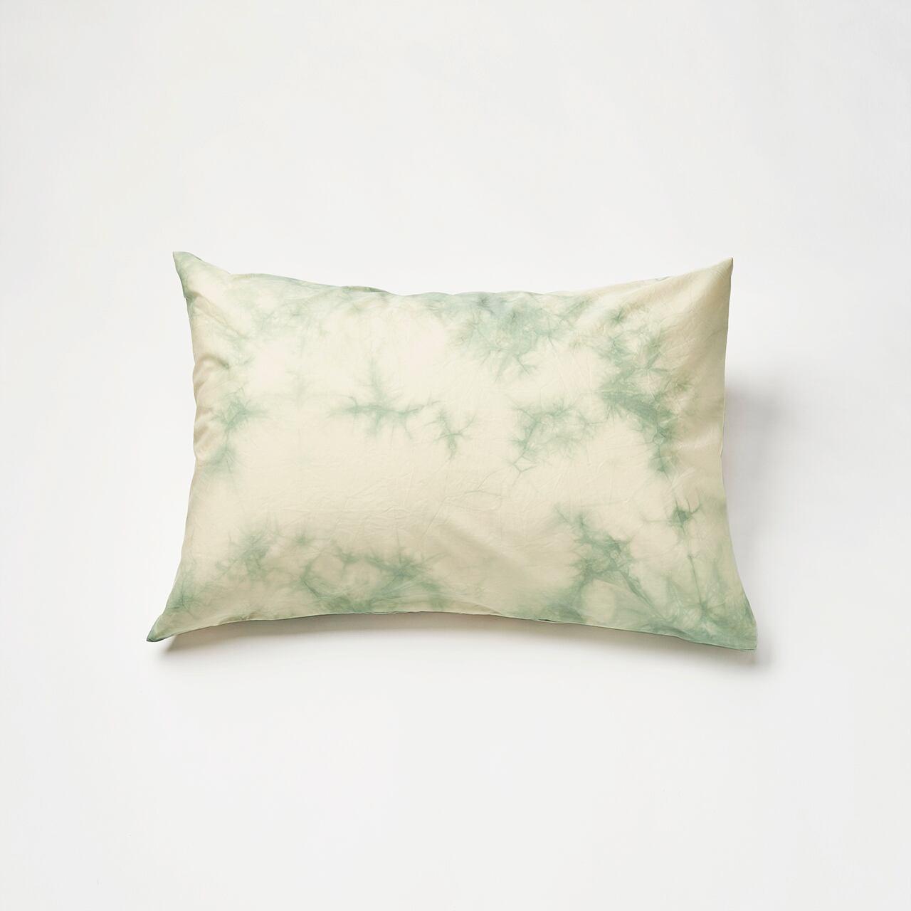 肌触りの良いピローケース(グリーン)封筒式 45×90cm