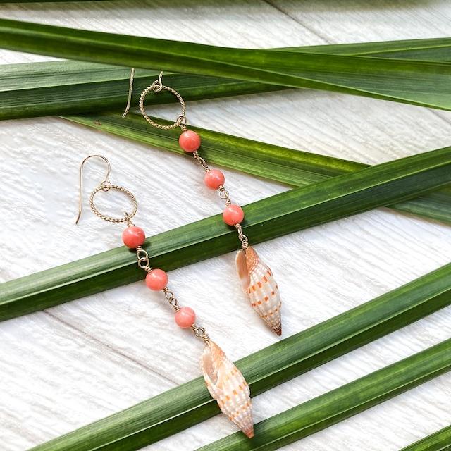 Orange Snail × Coral Pierce