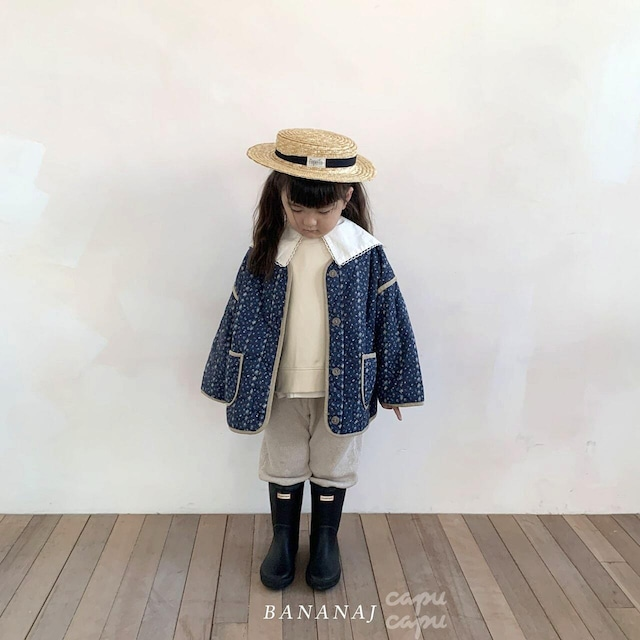 «sold out»«ジュニアサイズあり» banana j quilting outer  ワッフルトップス