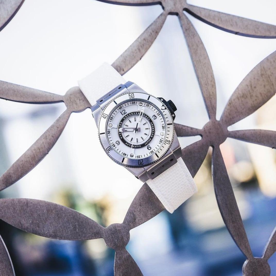 【HYDROGEN WATCH ハイドロゲンウォッチ】HW324200/SPORTIVO スポルティヴォ(ホワイト)/国内正規品 腕時計