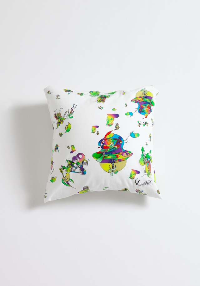 【NOWHAW】cushion #∈Y∋ -White-