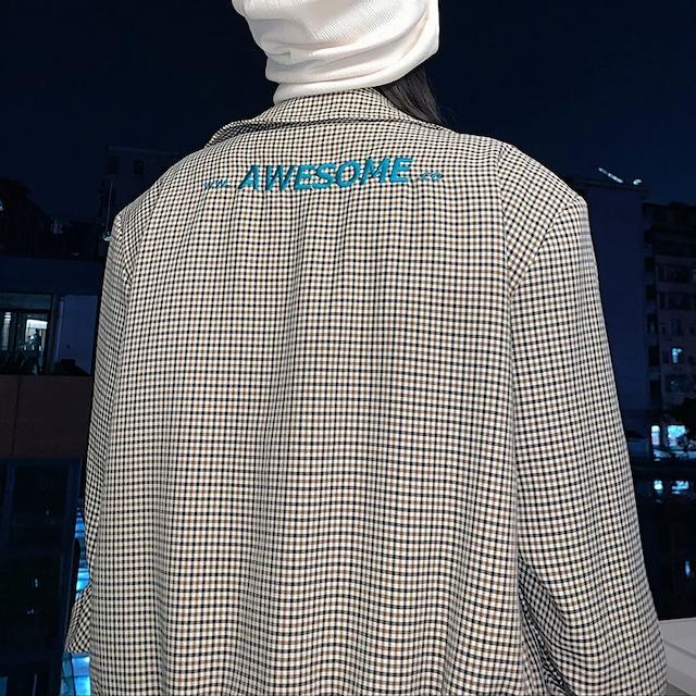 AWESOMEチェックジャケット(全1色) / HWG455