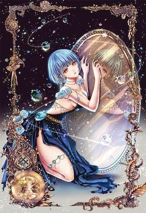 オリジナルウォールステッカー【星之物語ーStar Storyー 双子座ーGeminiー】A4 / yuki*Mami