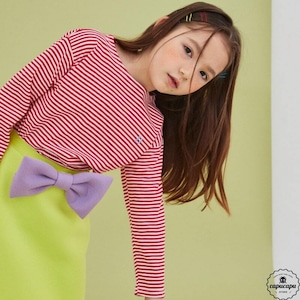 «sold out» ribbon skirt 2colors リボンスカート