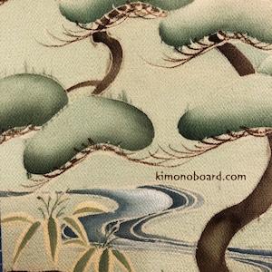 み や び 松|kimono interior | long long ago... 和風インテリア飾り