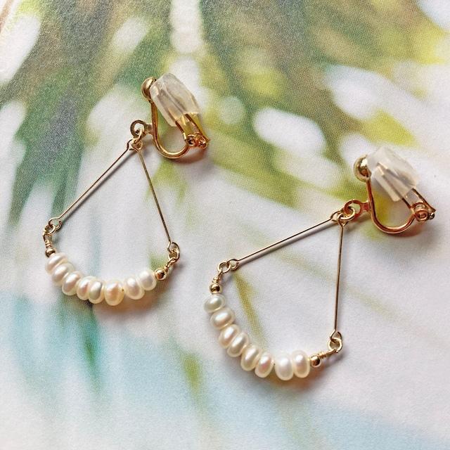 Biwa pearl arch
