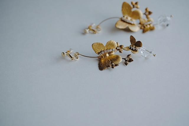 Bridal Earring・vintage・2017 /sale