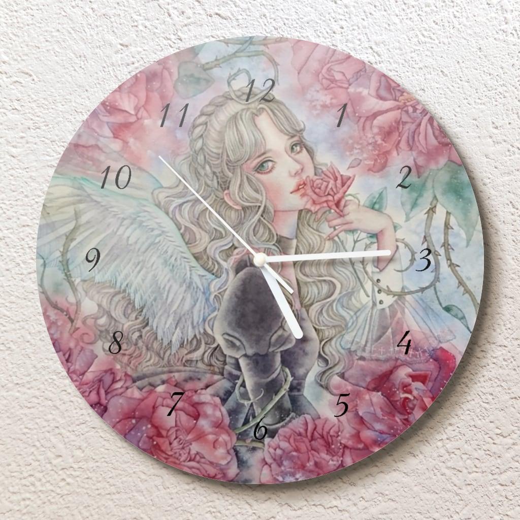 聖なる罪の花 壁掛け時計(L)